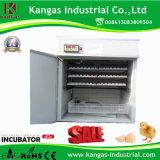 Oeuf certifié par CE hachant l'incubateur automatique d'oeufs de machine