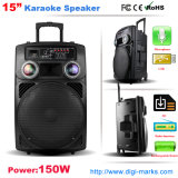 Novo modelo 12 polegadas Professional Active Portable Trolley Bass Speaker