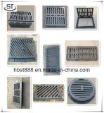 Griglia quadrata duttile del burrone del ferro En124 B125 con il blocco per grafici