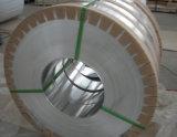 Bobina di alluminio con la pellicola blu ricoperta
