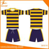 Le football populaire Jersey d'allumette d'équipe de sublimation de vêtements de sport de Healong