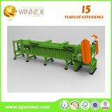 Singola trinciatrice dell'asta cilindrica per carta straccia e metallo che riciclano macchina