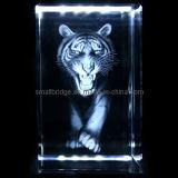 Tigre 3D de cristal