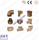 良質の真鍮の管付属品(肘のティーのカップリング)
