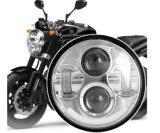 """Shaen 5 3/4의 """" Harley 기관자전차를 위한 둥근 40W LED 헤드라이트"""