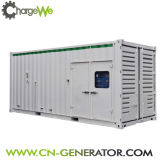 저잡음 400kw 침묵하는 유형 가스 발전기 /Biogas 발전기 /Biomass 발전기