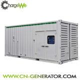 Generador de gás silencioso de baixo nível 400kw / gerador de biogás / geradores de biomassa
