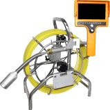 Het handbediende Systeem van de Camera van de Inspectie van het Riool van de Monitor met het Nivelleren van Camera