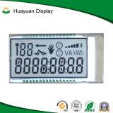 포지티브 7 세그먼트 LCD 디스플레이