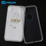 2мм ясно TPU задние крышки для iPhone 8 Мобильный телефон случае