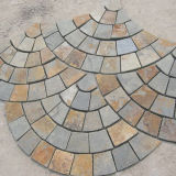 Chinese Veelkleurige Goedkope Straatsteen/Flagstone smc-R032
