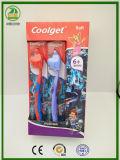 Toothbrush das crianças do Spiderman do tipo de Coolget com tampão livre