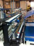 Dos capas de la junta inferior de la bolsa de corte en frío que hace la máquina