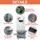 Máquina portátil de marcação a laser de fibra / máquina de gravura