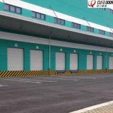 Поднимите промышленные секционные раздвижные двери