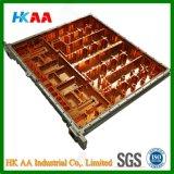 Componenti aerospaziali lavoranti/di macinazioni di CNC di precisione, componenti aerospaziali di alluminio