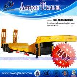 De hete Aanhangwagen van de Vrachtwagen van het Bed van de Verkoop Op zwaar werk berekende Lage Semi