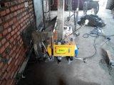 建設用機器の自動壁のコンクリートミキサー車乳鉢プラスターロボットレンダリング機械