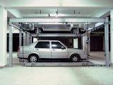 Sistema automático de levantamento do estacionamento do carro do enigma horizontal