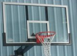 Estrutura de alumínio de todos os campos de basquetebol de vidro temperado para acertar (GM-L-12)
