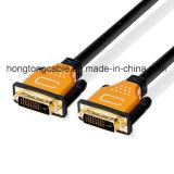 Hochgeschwindigkeits-DVI männliches Digital Doppel-Link Kabel