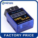 Мини-Vgate Elm327, Bluetooth OBD2 Elm327 на заводе Vagte сканирования продажи мини-Elm 327/бортовой системы диагностики OBD2 Elm327 диагностического прибора Bluetooth