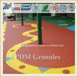 Granulés en caoutchouc EPDM colorés pour surface de sport