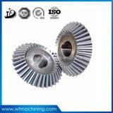 ギヤのためのOEMの精密炭素鋼の金属CNCの機械化の部品