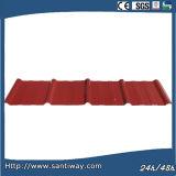 Сталь с покрытием из листовой стали плитки для кровли