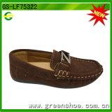 Couleur chaude serpentine de chaussures occasionnelles d'enfant d'unité centrale (GS-LF75322)