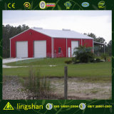 Magazzino prefabbricato dell'acciaio chiaro di alta qualità con la certificazione del CE (L-S-011)