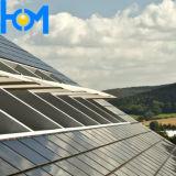 glace inférieure Tempered de fer de l'AR-Coationg d'utilisation de panneau solaire de 3.2mm