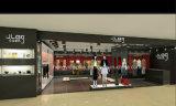 옷가게 전시를 위한 현대 숙녀 옷 상점 디자인