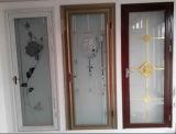고품질 신식 알루미늄 여닫이 창 유리제 문 또는 여닫이 문 (ACD-001)