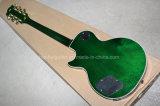백색 바인딩을%s 가진 Hanhai 음악/녹색 Lp 작풍 일렉트릭 기타