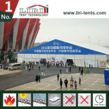 40X100mのゆとりのスパン展示会のためのアルミニウムフレームPVC構造のテントホール