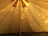 6 mètres de Ultimate Pro Twin porte Glamping Bell tente pour la famille
