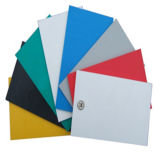 Feuille rigide colorée de PVC