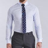 2016 Chemises élégantes pour hommes Chemises 100% coton à manches longues en coton égyptien