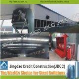 Usato come il workshop, il magazzino, corridoio pranzante o costruzione prefabbricata della struttura d'acciaio della tettoia