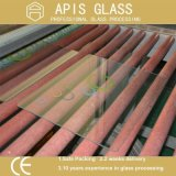 vidrio Tempered impreso pantalla de seda de 4m m con los bordes del lápiz