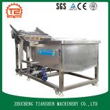 Machine de lavage et rondelle de pression pour des légumes avec la bulle