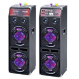 Big Power Trolley DJ Ststem Active PA alto-falante de karaoke Bluetooth
