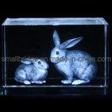 Conejo cristalino 3D