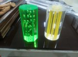Plástico do competidor da eficiência elevada PMMA Rod que expulsa fazendo a maquinaria