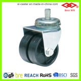 Il gemello spinge la macchina per colata continua di nylon nera (P190-30B075X23D)