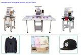 Solas máquinas principales baratas comerciales de 1 bordado del casquillo y de la camiseta una con los precios para la venta