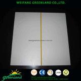 Película de papel de 2,5 mm ranurado Frente para la decoración de madera contrachapada