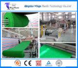 Máquina de la fabricación de la estera de la hierba del LDPE/línea plásticas de la protuberancia