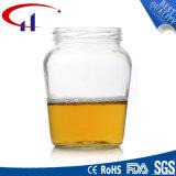 蜂蜜(CHJ8051)のための650ml大きいサイズのガラス容器